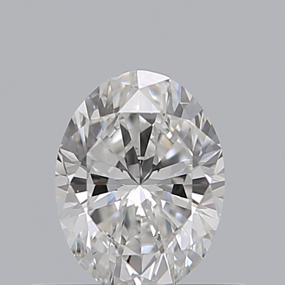 0.40 Carat Oval Loose Diamond, D, VS2, Ideal, GIA Certified