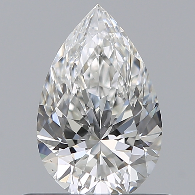 0.51 Carat Pear Loose Diamond, G, SI1, Super Ideal, GIA Certified