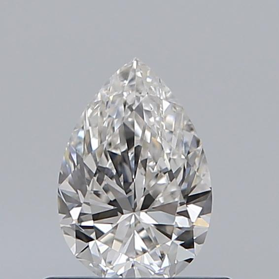 0.51 Carat Pear Loose Diamond, G, VVS1, Super Ideal, GIA Certified