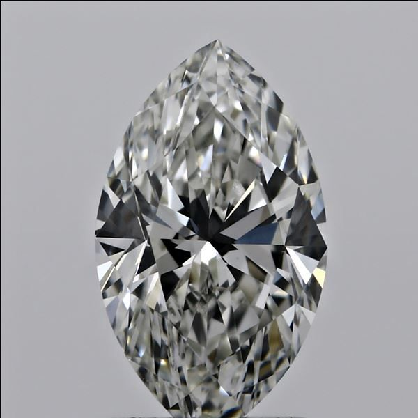 0.53 Carat Marquise Loose Diamond, H, VS2, Super Ideal, GIA Certified