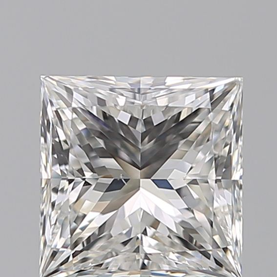 1.29 Carat Princess Loose Diamond, F, VS2, Super Ideal, GIA Certified