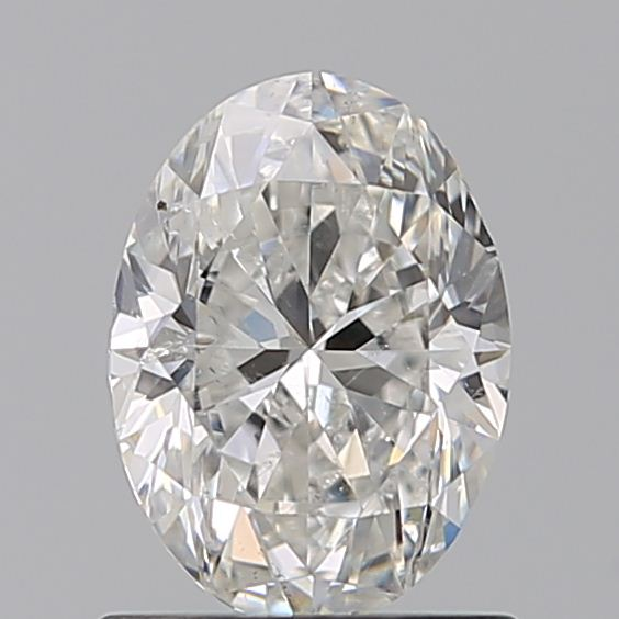0.90 Carat Oval Loose Diamond, G, SI2, Excellent, GIA Certified