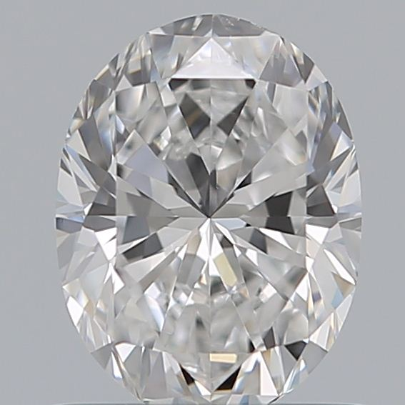 0.70 Carat Oval Loose Diamond, D, VS2, Ideal, GIA Certified | Thumbnail