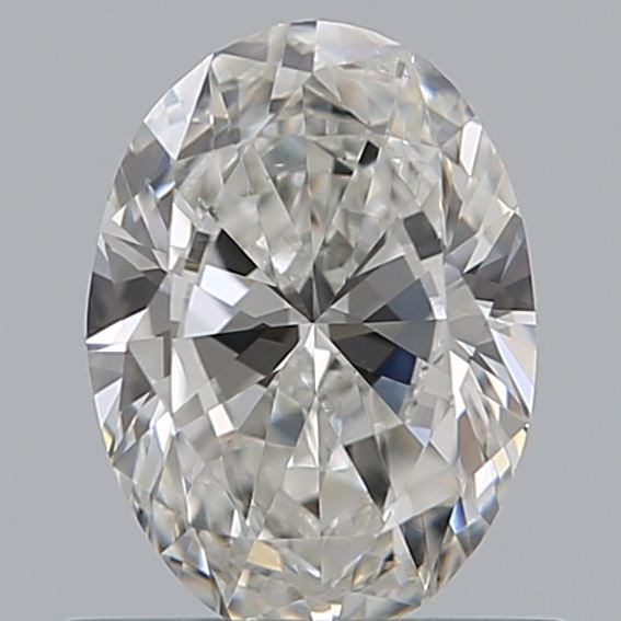 0.59 Carat Oval Loose Diamond, G, VS2, Excellent, GIA Certified
