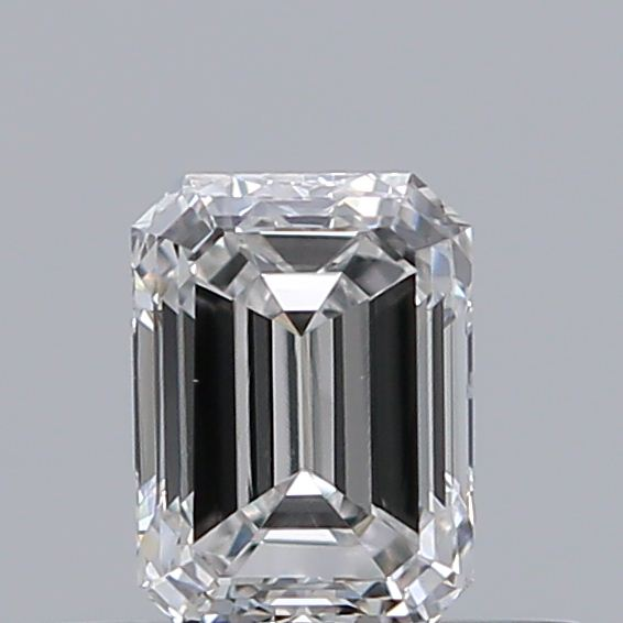 0.33 Carat Emerald Loose Diamond, F, VS2, Excellent, GIA Certified