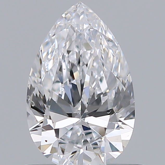 0.59 Carat Pear Loose Diamond, D, VS1, Ideal, GIA Certified