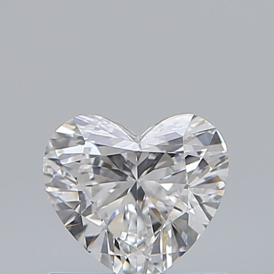 0.50 Carat Heart Loose Diamond, F, VS2, Ideal, GIA Certified | Thumbnail
