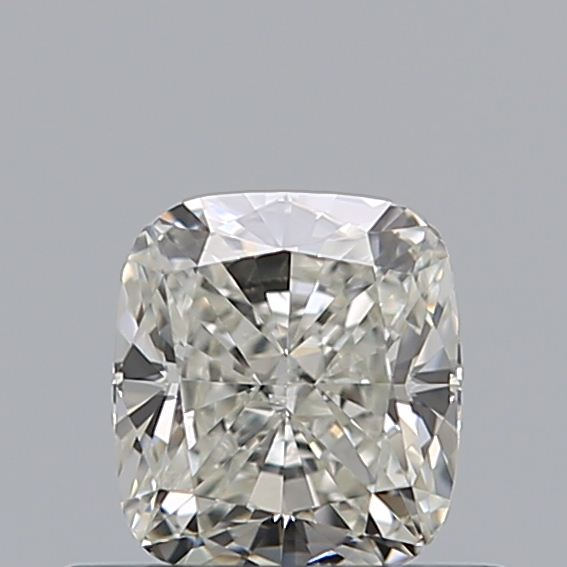 0.50 Carat Cushion Loose Diamond, J, SI1, Excellent, GIA Certified