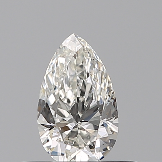 0.30 Carat Pear Loose Diamond, H, VS2, Excellent, GIA Certified