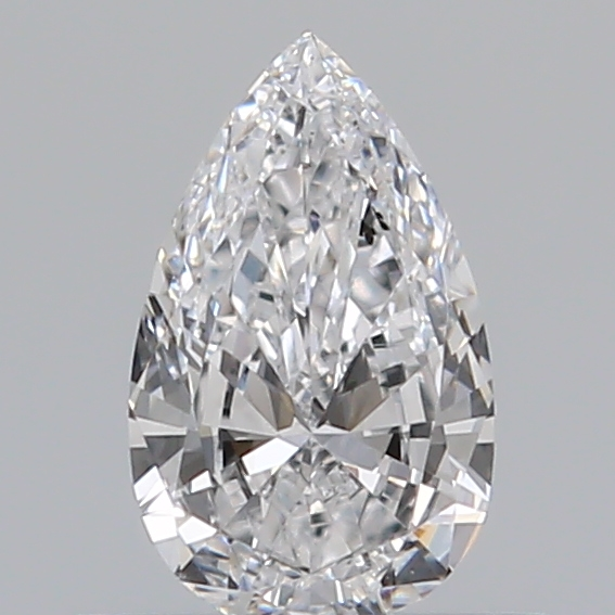 0.36 Carat Pear Loose Diamond, D, SI1, Excellent, GIA Certified