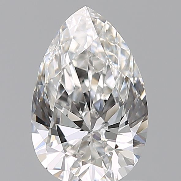 0.72 Carat Pear Loose Diamond, F, VS1, Super Ideal, GIA Certified | Thumbnail