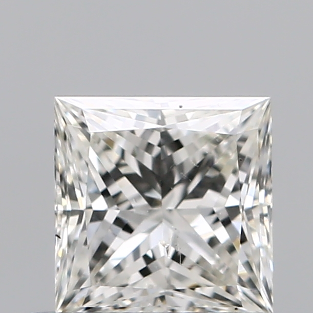 0.59 Carat Princess Loose Diamond, I, SI1, Super Ideal, GIA Certified
