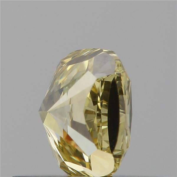 0.50 Carat Cushion Loose Diamond, Fancy Brownish Yellow, VS1, Excellent, GIA Certified