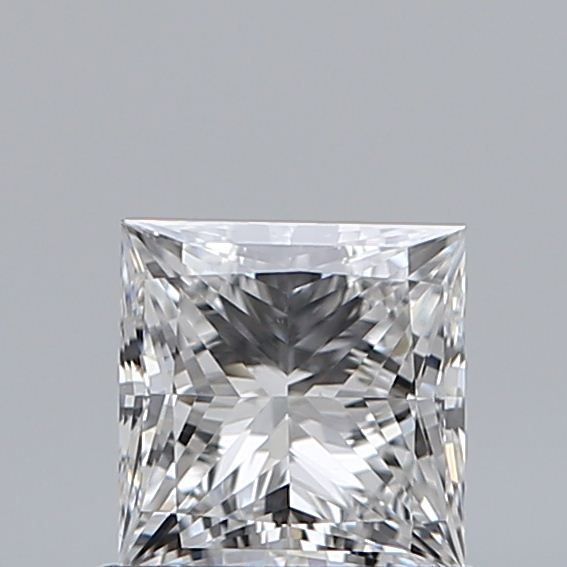 0.75 Carat Princess Loose Diamond, E, VS2, Super Ideal, GIA Certified