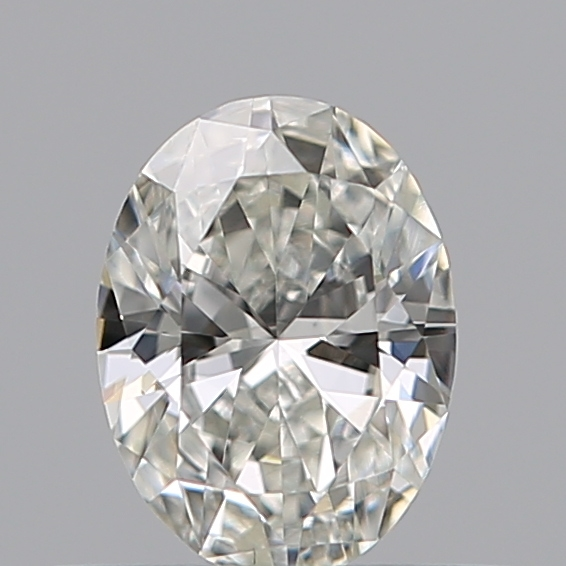 0.36 Carat Oval Loose Diamond, H, SI1, Excellent, GIA Certified