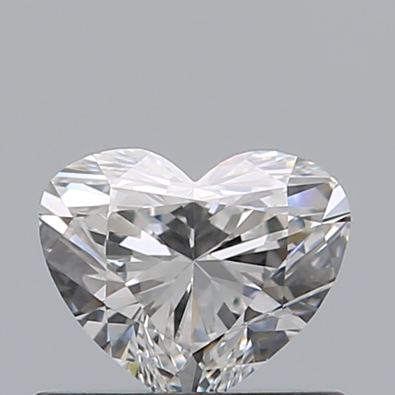 0.42 Carat Heart Loose Diamond, F, VS1, Super Ideal, GIA Certified