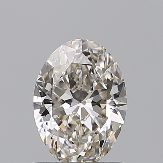 0.80 Carat Oval Loose Diamond, I, SI1, Ideal, GIA Certified | Thumbnail