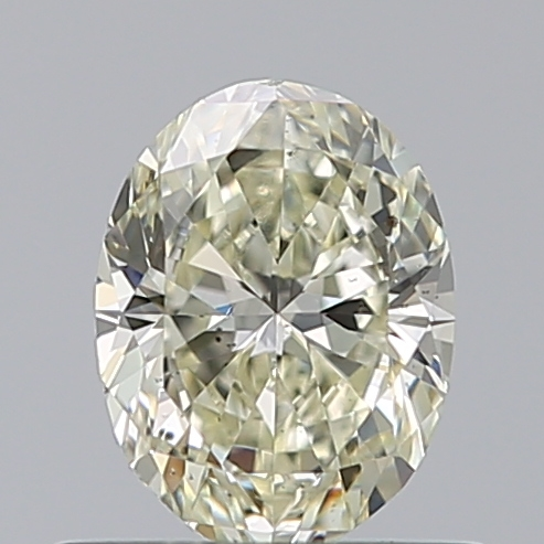 0.50 Carat Oval Loose Diamond, M, SI1, Excellent, GIA Certified