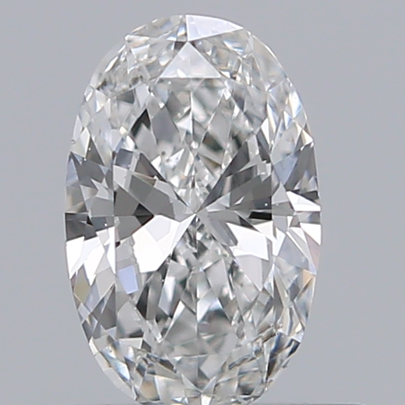 0.39 Carat Oval Loose Diamond, F, SI1, Excellent, GIA Certified
