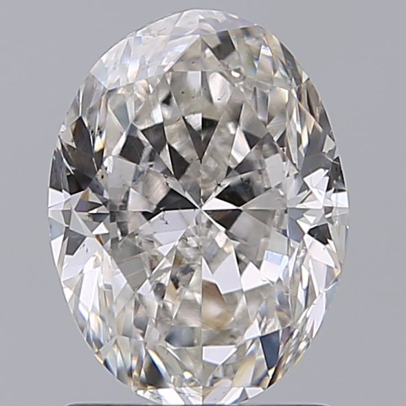1.50 Carat Oval Loose Diamond, I, SI1, Very Good, GIA Certified | Thumbnail