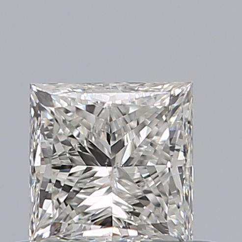 0.50 Carat Princess Loose Diamond, I, SI2, Ideal, GIA Certified | Thumbnail