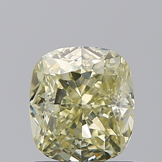 1.00 Carat Cushion Loose Diamond, FANCY, VS1, Excellent, GIA Certified