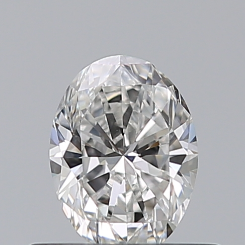 0.42 Carat Oval Loose Diamond, F, VVS2, Super Ideal, GIA Certified | Thumbnail