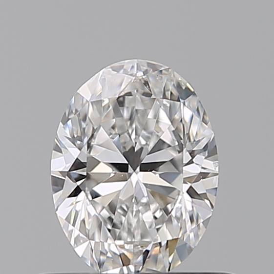 0.50 Carat Oval Loose Diamond, D, VS2, Ideal, GIA Certified | Thumbnail