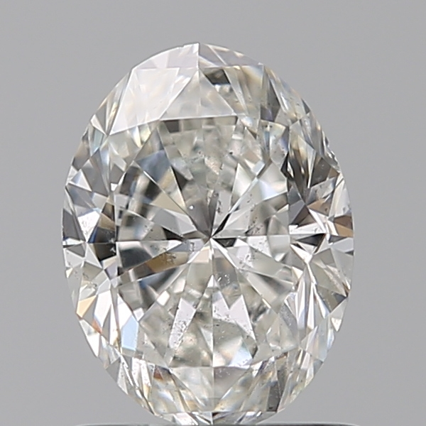 0.90 Carat Oval Loose Diamond, G, SI2, Ideal, GIA Certified
