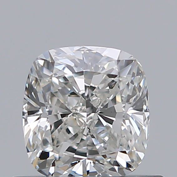 0.52 Carat Cushion Loose Diamond, H, VS1, Ideal, GIA Certified