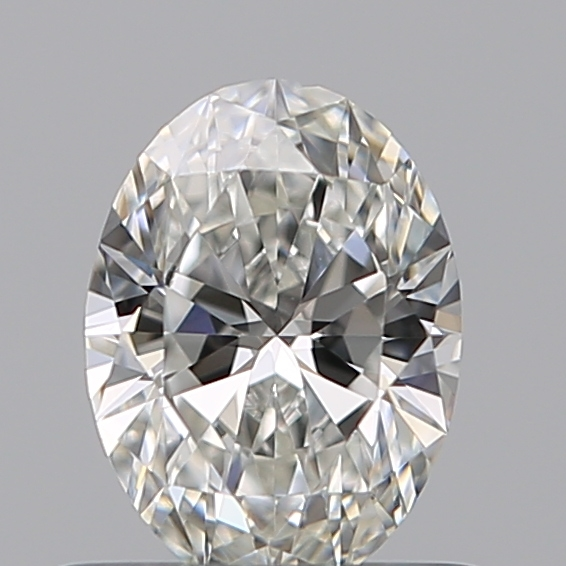 0.50 Carat Oval Loose Diamond, F, VS2, Super Ideal, GIA Certified | Thumbnail