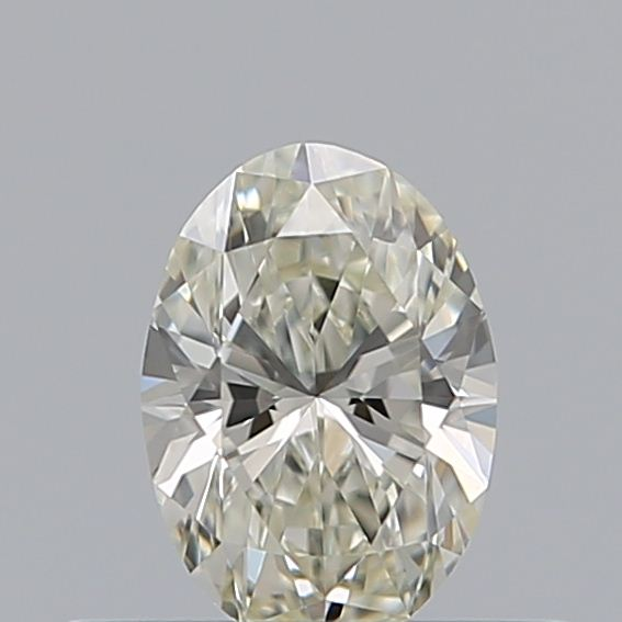 0.30 Carat Oval Loose Diamond, K, VVS2, Super Ideal, GIA Certified