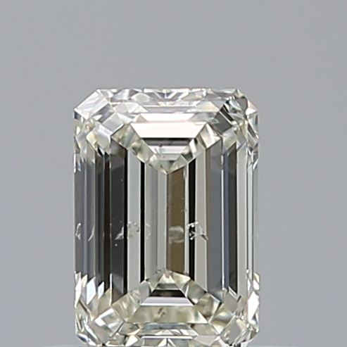 0.51 Carat Emerald Loose Diamond, K, SI2, Super Ideal, GIA Certified