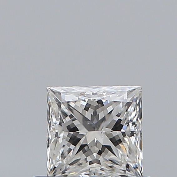 0.51 Carat Princess Loose Diamond, G, SI1, Super Ideal, GIA Certified