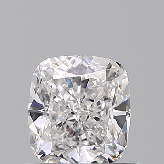 0.58 Carat Cushion Loose Diamond, D, VVS1, Super Ideal, GIA Certified