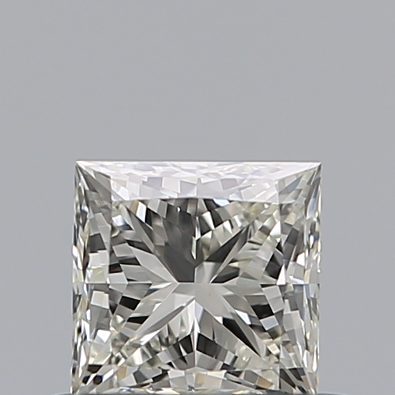 0.51 Carat Princess Loose Diamond, K, VS1, Ideal, GIA Certified