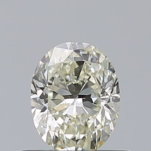 0.50 Carat Oval Loose Diamond, L, SI2, Excellent, GIA Certified