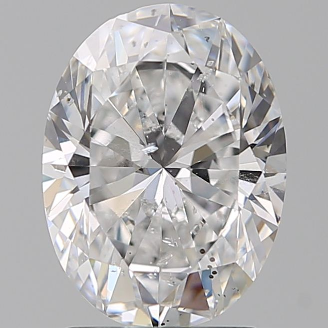 1.90 Carat Oval Loose Diamond, D, SI2, Ideal, GIA Certified