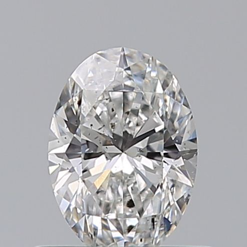 0.52 Carat Oval Loose Diamond, F, SI2, Super Ideal, GIA Certified