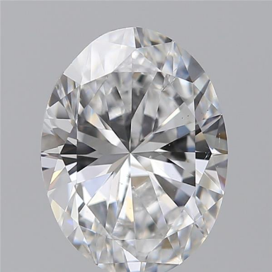 1.50 Carat Oval Loose Diamond, D, SI1, Excellent, GIA Certified