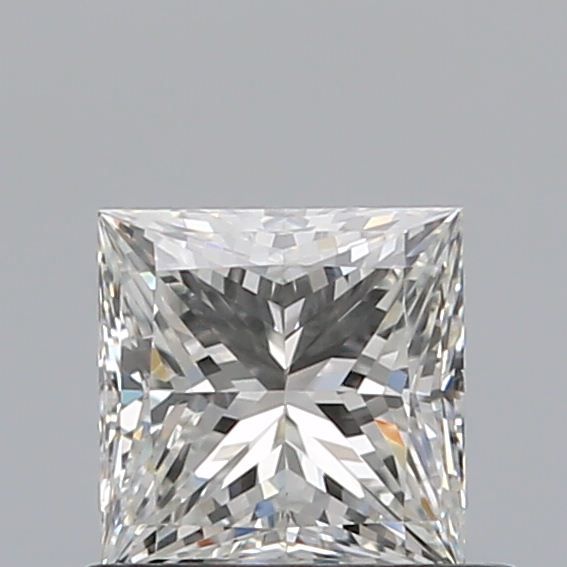 0.61 Carat Princess Loose Diamond, H, VS2, Ideal, GIA Certified
