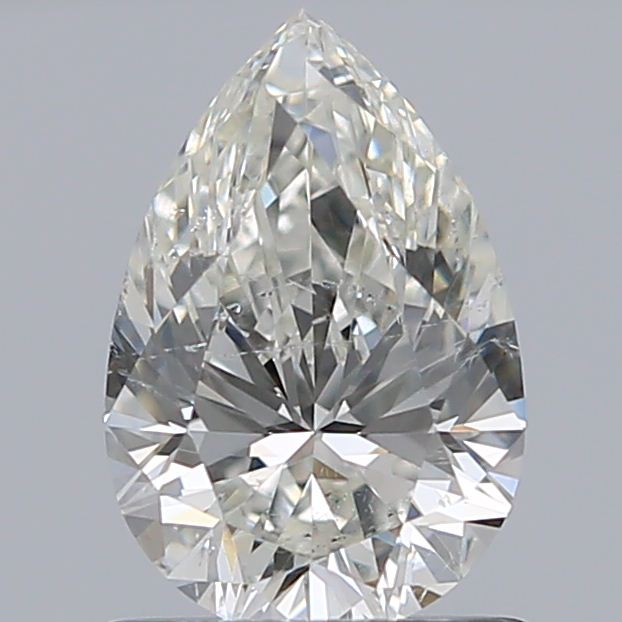 0.90 Carat Pear Loose Diamond, J, SI2, Super Ideal, GIA Certified