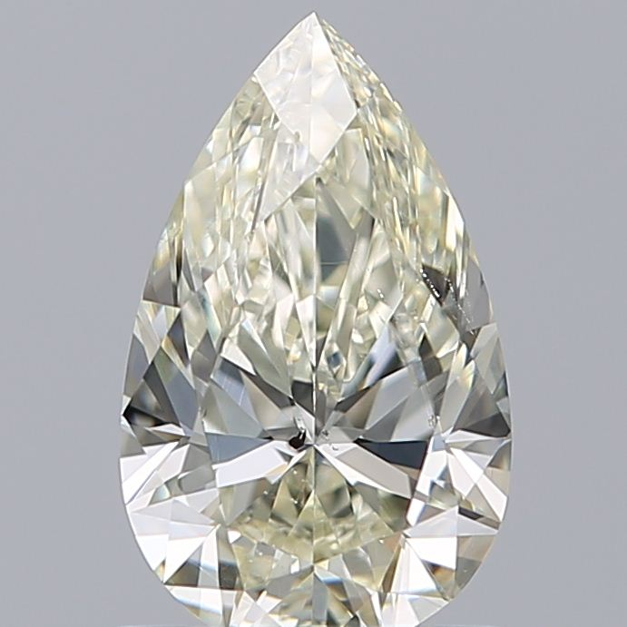 0.90 Carat Pear Loose Diamond, M, SI2, Ideal, GIA Certified