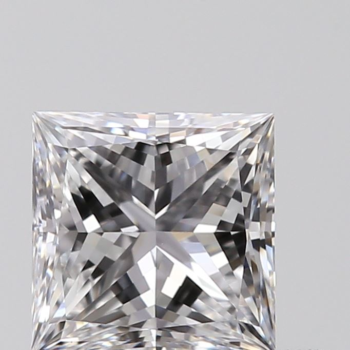 0.50 Carat Princess Loose Diamond, D, SI1, Ideal, GIA Certified