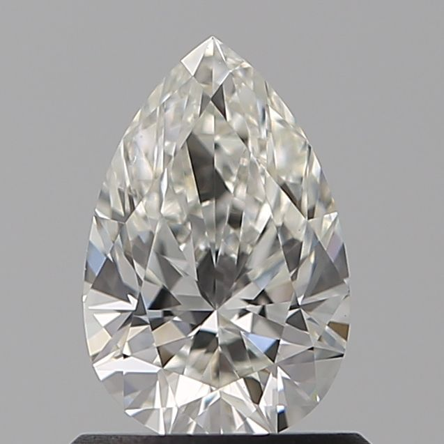 0.75 Carat Pear Loose Diamond, H, VS1, Ideal, GIA Certified | Thumbnail