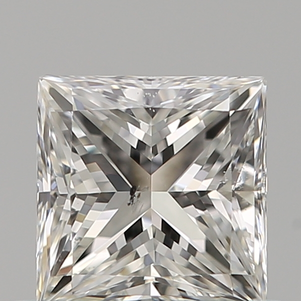 0.51 Carat Princess Loose Diamond, G, SI1, Ideal, GIA Certified