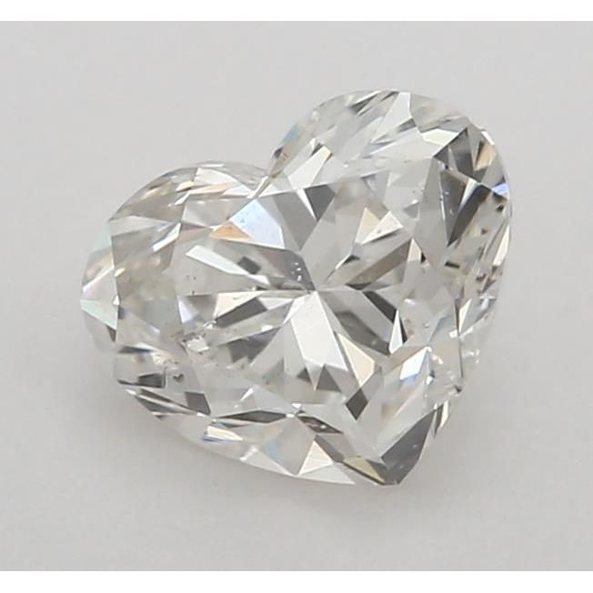 0.90 Carat Heart Loose Diamond, H, SI1, Super Ideal, GIA Certified | Thumbnail