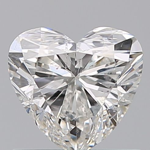 0.65 Carat Heart Loose Diamond, G, SI2, Excellent, GIA Certified