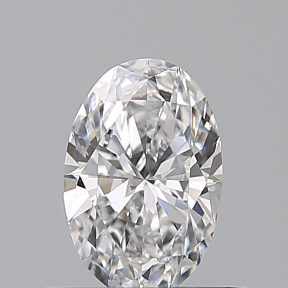 0.39 Carat Oval Loose Diamond, D, IF, Ideal, GIA Certified
