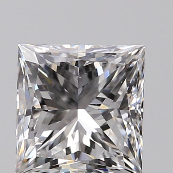 0.40 Carat Princess Loose Diamond, D, VS1, Ideal, GIA Certified